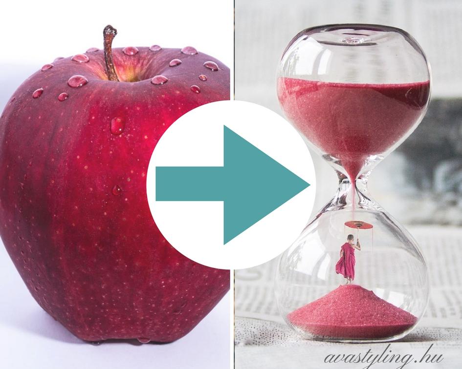 10 stílustipp – Hogyan lesz az almából homokóra?